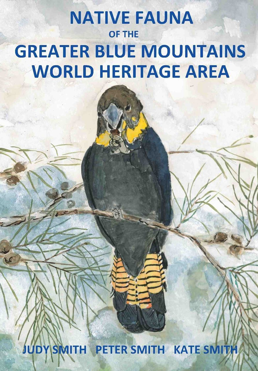 Book cover of native Fauna of the Greater Blue Mountains World Heritage Area